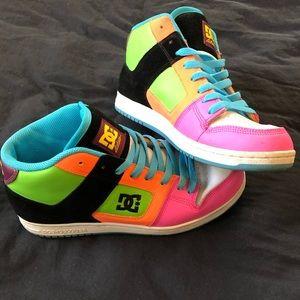 DC Shoe Company Multicolored Shoe